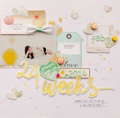 Project Life 2014 week 6 by geekgalz at @Studio_Calico