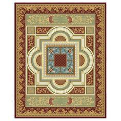 Ковер золотисто-красный 'Королевская страсть' Palazzo Ducale #carpets #rug #ковер #designer #interior