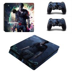 Video Games & Consoles Skin Ps4 Slim Wooden Wood Design Limited Edition Decals Cover Gamesmonkey