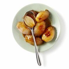 Gekaramelliseerde uitjes Fruit, Food, Essen, Meals, Yemek, Eten