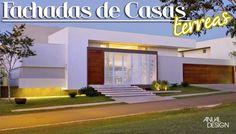 Fachadas de Casas Térreas - veja 20 modelos modernos e bonitos!