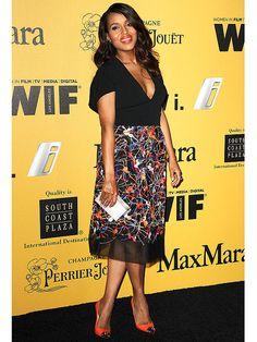 Kerry Washington Body After Baby SportMax Christian Louboutin Women in Film red carpet