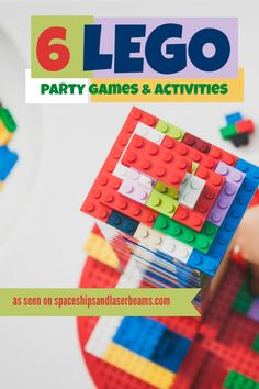 6 Lego Party Games and Activities
