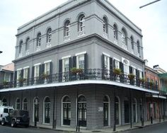 Now this is the LaLaurie Mansion. Right in the French Quarter.
