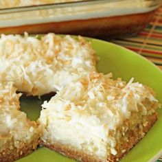 Coconut Lime Cheesecake Bars - plus lots of other yummy cheesecake recipes!