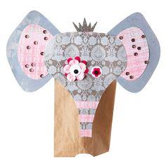 Kooky Elephant Puppet