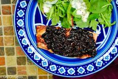 grilled salmon with cherry glaze-2