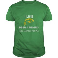 I Like Beer & Fishing And Maybe 3 People Funny Shirt #gift #ideas #Popular #Everything #Videos #Shop #Animals #pets #Architecture #Art #Cars #motorcycles #Celebrities #DIY #crafts #Design #Education #Entertainment #Food #drink #Gardening #Geek #Hair #beauty #Health #fitness #History #Holidays #events #Home decor #Humor #Illustrations #posters #Kids #parenting #Men #Outdoors #Photography #Products #Quotes #Science #nature #Sports #Tattoos #Technology #Travel #Weddings #Women