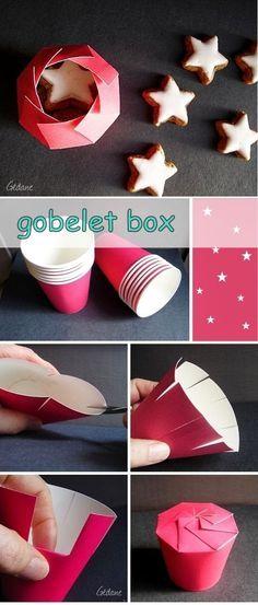 DIY Geschenkbox #christmaswrapping