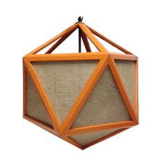 what if you made neon pendants in a dodecahedron shape like this? Where either the glass would light or you would simply use colored glass as the framework and put a standard light inside?