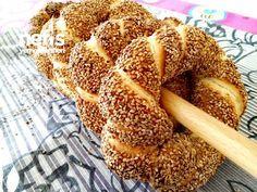 Simit Tarifi Healthy Dinner Recipes, Vegetarian Recipes, Cooking Recipes, Bread Recipes, Bagel Recipe, Good Food, Yummy Food, Salty Snacks, Vegan Meal Prep
