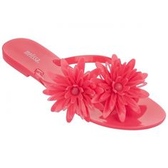 Melissa Shoes Harmonic Bloom Pink ($90) ❤ liked on Polyvore