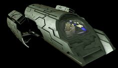 Stargate Atlantis; Puddle Jumper Minecraft Project