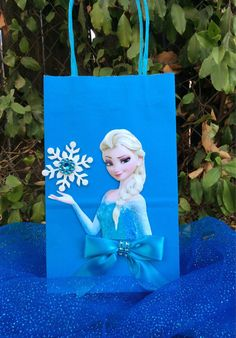 Frozen Disney Princesses Elsa 6 Birthday por FantastikCreations