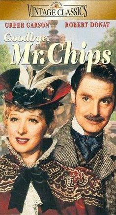 """""""GOODBYE MR. CHIPS"""" (1939) ROBERT DONAT, GREER GARSON, PAUL HEINREID"""