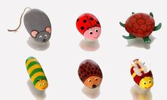 Χειροτεχνίες: Ζωγραφική σε πέτρες - ζωάκια και έντομα