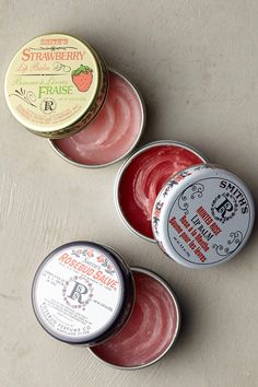 Smith's Rosebud Salve is a beauty classic - everyone's favorite lip balm, cuticle smoother, flyaway tamer and irritation soother. This gift set includes a pocket-sized tin of each time-tested signature scent. Sugar Scrub Diy, Diy Scrub, Smiths Rosebud Salve, Cute Bridesmaids Gifts, Strawberry Lip Balm, Little Presents, Tin Gifts, Skin Makeup, Rose Buds