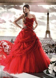 Alessandro Couture 2012 Color Wedding Dresses | Wedding Inspirasi