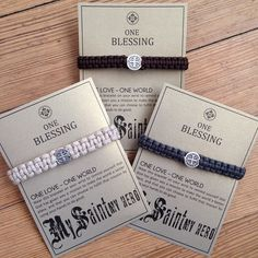 We have My Saint My Hero bracelets for men! Perfect for a graduation gift, it encourages the wearer to make our world a better place by following a path of positivity. #mysaintmyhero #st.benedict #inspire #dogood #positivity #charmingtreasuresgiftshop