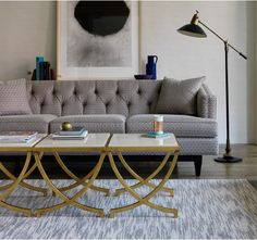 Haviland Table - Save 20% on all furniture! For a limited time only. #Sale #Sofa #Modern #Design #Interiors