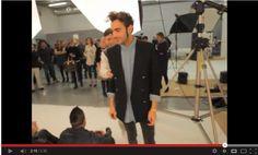 Marco Mengoni al backstage fotografico di Sorrisi e Canzoni