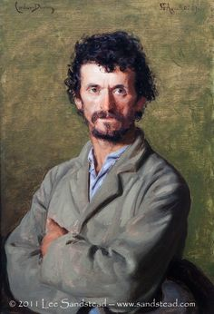 A society portrait painter, Carolus-Duran was one day inspired to paint his gardener.  A wonderful and very present image, isn't it?  Up close, the gardener's right eye is painted with a double iris and pupil.  At the Kimbell now, spring 2012.