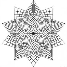 Mandala Coloring Pages for Teens. 30 Mandala Coloring Pages for Teens. Sweet Coloring Page for Teens or Adults Geometric Coloring Pages, Pattern Coloring Pages, Printable Adult Coloring Pages, Cool Coloring Pages, Mandala Coloring Pages, Coloring Books, Coloring Sheets, Kids Coloring, Fairy Coloring