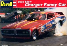 Revell Gene Snow Charger Funny Car box art
