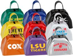 Custom printed Mini Sports Balls with your logo, graphic or message. The premier online source for custom imprinted sports-related promotional products. Baseball Mom, Football, Sports Party Favors, Mini Cows, Cheer Spirit, Cheer Gifts, Noise Maker, Metal, Custom Design