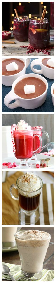 12 things to drink when you're sick of egg nog! These seasonal sippers will become new holiday faves.