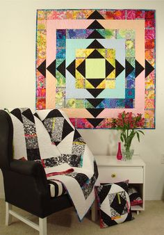 Facets Quilt Pattern | Flickr - Photo Sharing!