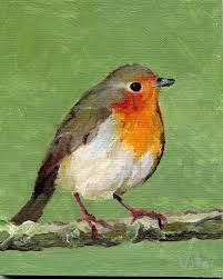 Image result for robin painting