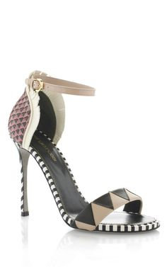 LOVES: Sergio Rossi Oberoj Ankle Strap High Heel Sandal