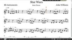 Image result for star wars theme song sheet music