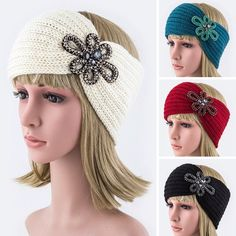 Super cute cold weather accessories are here! Love the Aria Head Band - $14.50