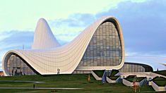 Cultural Center Baku Azerbaijan by Péter Antal Vincze