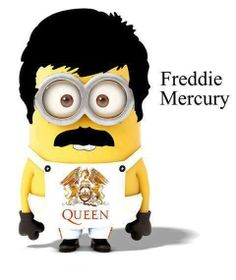 Fuck yeah a minion as Freddie? What's better?