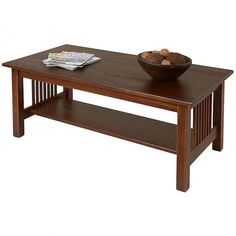 Solid Wood Coffee Tables - Mission Furniture @ ManchesterWood.com Made in USA 350