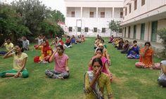 camp in Rajasthan with blessings of yoga guru baba Ramdev World Yoga Day, Baba Ramdev, International Yoga Day, Blessings, Dolores Park