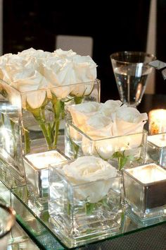60 simple and elegant ideas for all white wedding colors - WHITE WEDDI . 60 simple and elegant ideas for all white wedding colors - WHITE WEDDING - White Roses Wedding, Rose Wedding, Wedding Flowers, White Flowers, Wedding Story, Wedding Beauty, Pink Roses, Wedding Dresses, All White Party