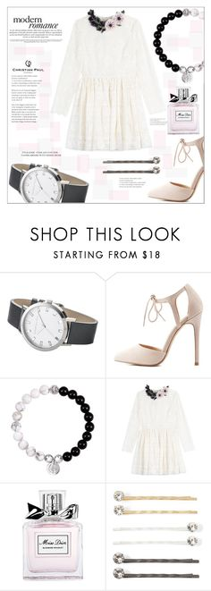 """""""Untitled #970"""" by mycherryblossom ❤ liked on Polyvore featuring Elwood, Charlotte Russe, Valentino, Christian Dior and Vieste Rosa"""