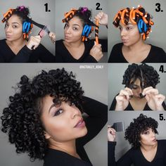 A Guide For The Perfect Rollerset on Natural Hair 2019 - Curly Girl Swag