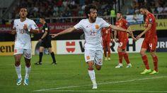 España gana a Macedonia por un go (2-1)