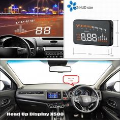 58.50$  Buy here - http://alilmg.shopchina.info/1/go.php?t=32790752196 - Car HUD Head Up Display For Honda FR-V FRV / HR-V HRV / MR-V MRV - Refkecting Windshield Screen Safe Driving Screen Projector  #aliexpresschina