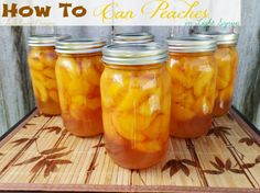 How to can Peaches with low sugar option | Food Storage Series