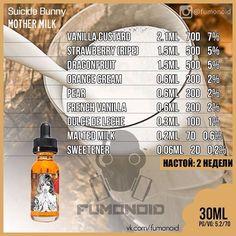 Premium E-liquids straight from the manufacturer Diy Vape Juice, Vape Diy, Dragon's Milk, E Juice Recipe, Clone Recipe, Vape Smoke, Malted Milk, Vanilla Custard, Vape Tricks