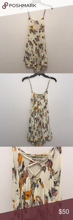 Free People dress Lace up dress from Free People! Super cute back! size xs...FOR SALE ONLY Free People Dresses
