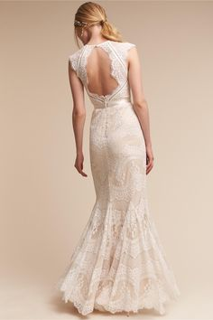 BHLDN's Catherine Deane Suri Gown in Ivory