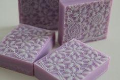pink lace soap