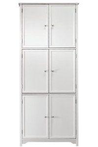 Oxford 6 Door Storage Cabinet Six Door White By Home Decorators Collection 72 H X 31